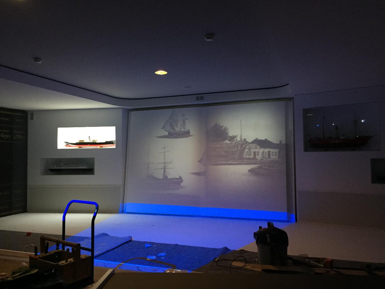 Der aufwändig inszenierte Historienfilm zeigt auf anschauliche Weise die bewegte und beeindruckende Geschichte der Meyer Werft. (c) Patrick Anneken