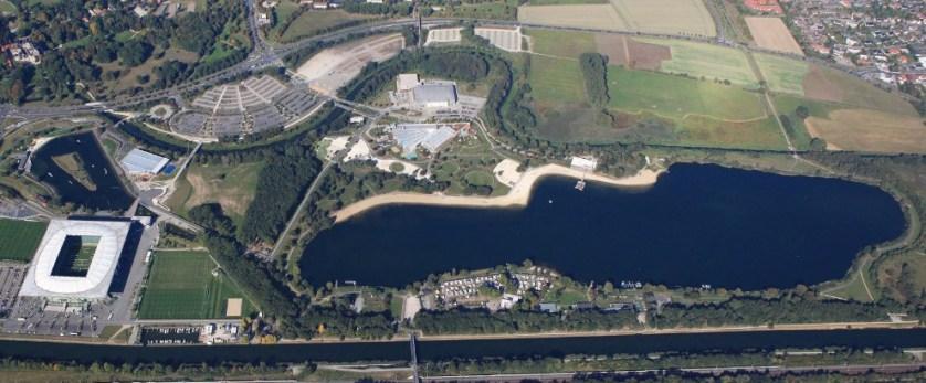 Der Allerpark erstreckt sich über 130 Hektar Fläche, (c) WMG Wolfsburg, Foto: Matthias Leitzke