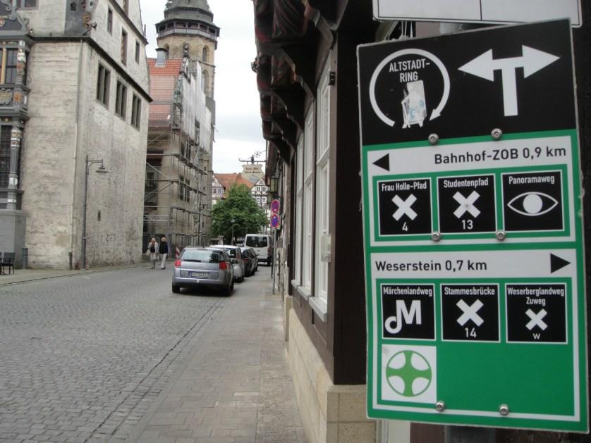 Alle Wege führen nach Hann. Münden - oder wie ging das bekannte Zitat doch gleich noch?! © Björn