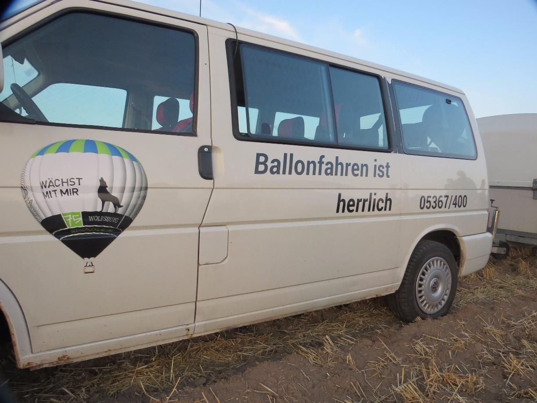 Abschlussbild Ballonfahren (c)WMG Wolfsburg