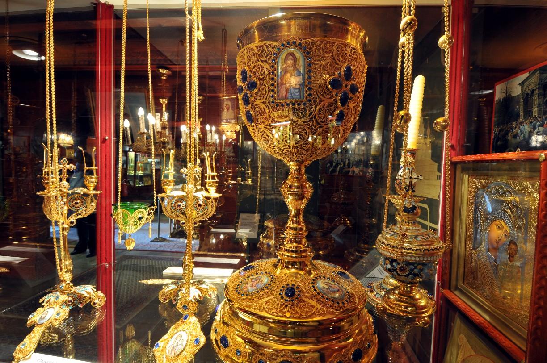Prunkstücke aus der Manufaktur des Moskauer Patriarchats © Südheide Gifhorn GmbH