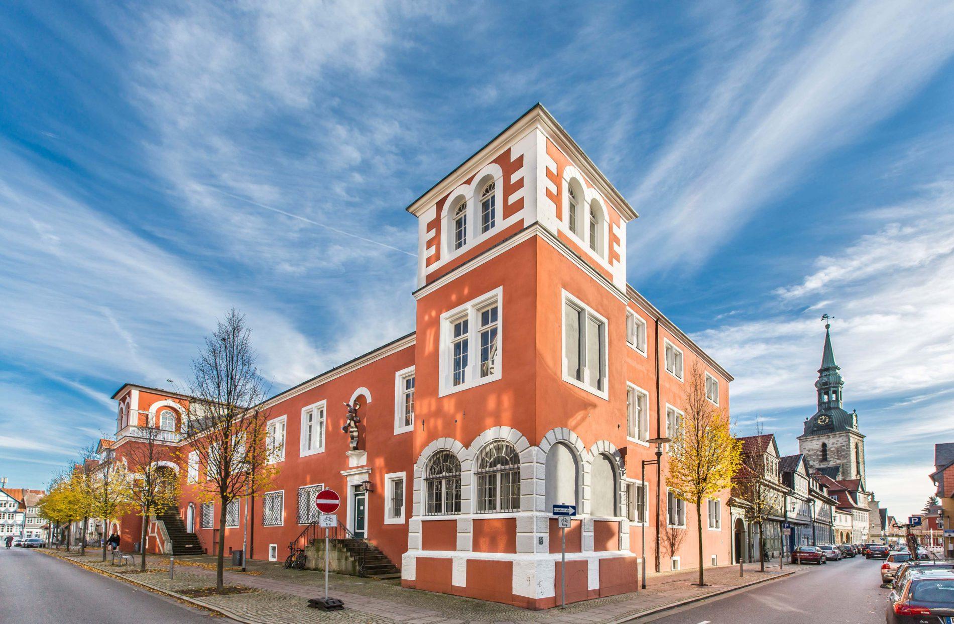 Einstmals Verwaltungssitz der Herzöge - die alte Kanzlei / Foto: Christian Bierwagen / Stadt WF
