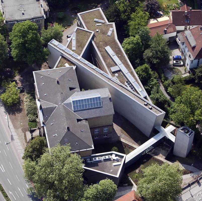 Luftaufnahme des Museums, Foto (c) Gert Westdörp