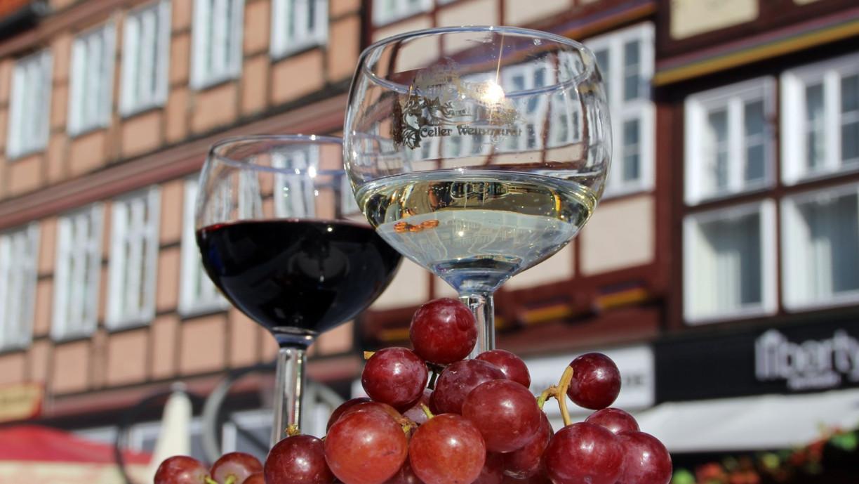 Weinmarkt und Fachwerk