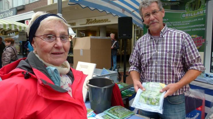 Pöttemarkt in Lingen Blaues Wunder