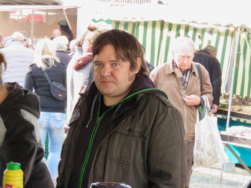 Sam Harvey gehört zum kommunalen Inventar in Wolfenbüttel