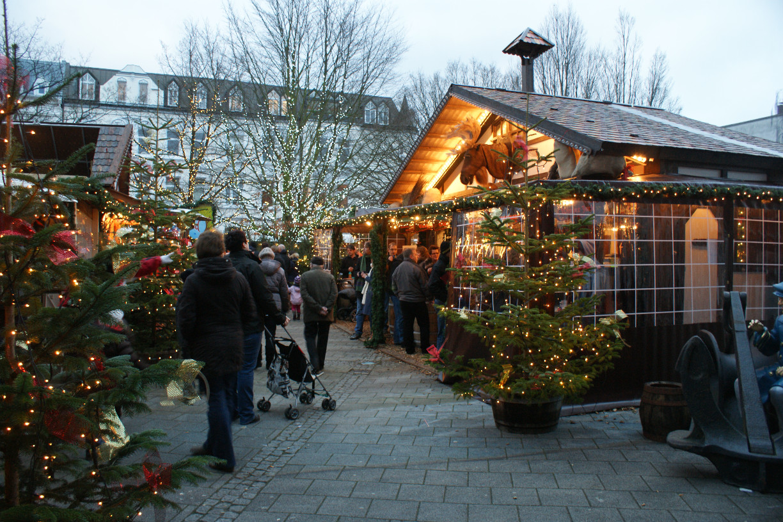 Weihnachten am Meer in Wilhelmshaven