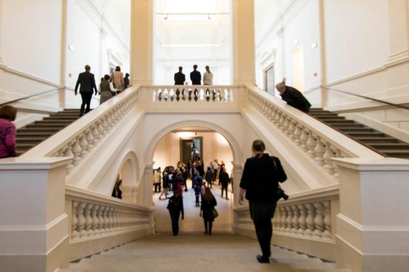 Neben der Kunst beeindruckt auch die Architektur des Museums. Foto: Braunschweig Stadtmarketing GmbH