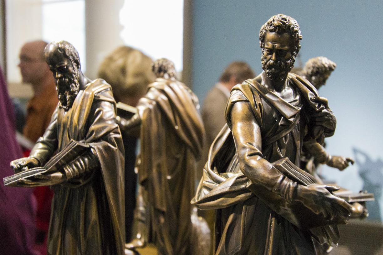 Entdecken zwischen Skulpturen. Foto: Braunschweig Stadtmarketing GmbH