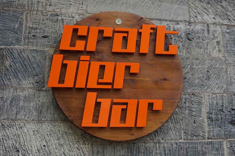 Schild Craft Bier Bar