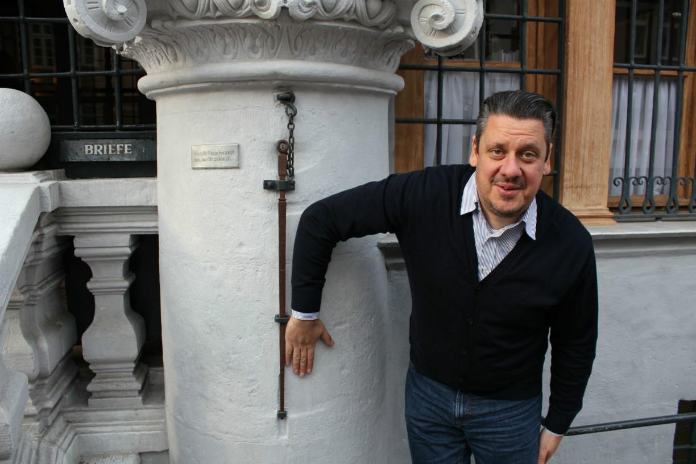 Städteblogger Marcus ist ganz begeistert von der Celler Elle im alten Rathaus