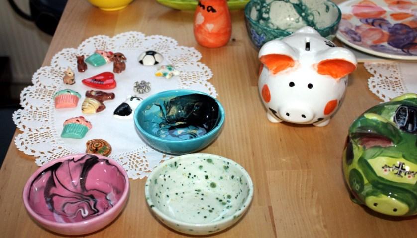 Fertige Keramiken