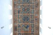Die Decke von St. Michaelis - dieses mal ohne Spiegel fotografiert.
