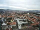 Hildesheim von oben - hier sieht man den Dom.