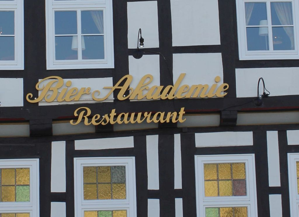 Das Restaurant Bier Akadmie in Celle
