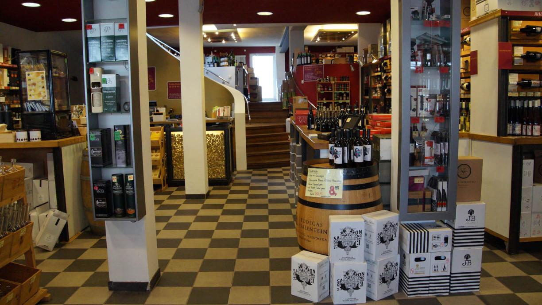 Weinauswahl bei Wein Kusch in Hildesheim