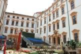 Das Schlosstheater Celle spielt im Sommer im Innenhof unter freiem Himmel (Foto: M. Zimmermann)