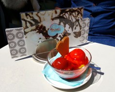 Veganes Eis bei Frioli in der Stephanusstraße