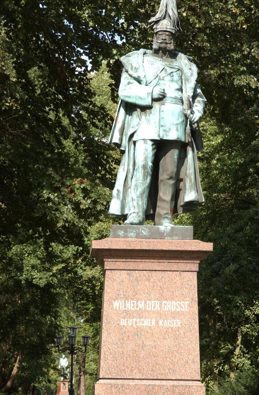 Das Kaiser-Wilhelm Denkmal erinnert an den Namensgeber der Jadestadt © Barbara