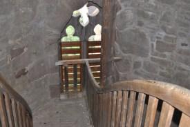 Im Treppenhaus des Johanniskirchturms (c) Michaela