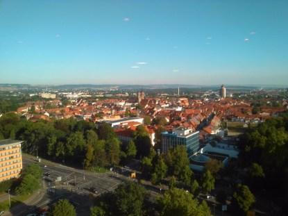 Göttinger Altstadt am Morgen