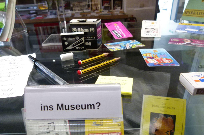 Schreibzeug - reif fürs Museum?
