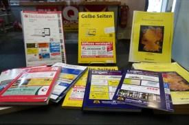 Wann habt ihr zuletzt das Telefonbuch konsultiert?