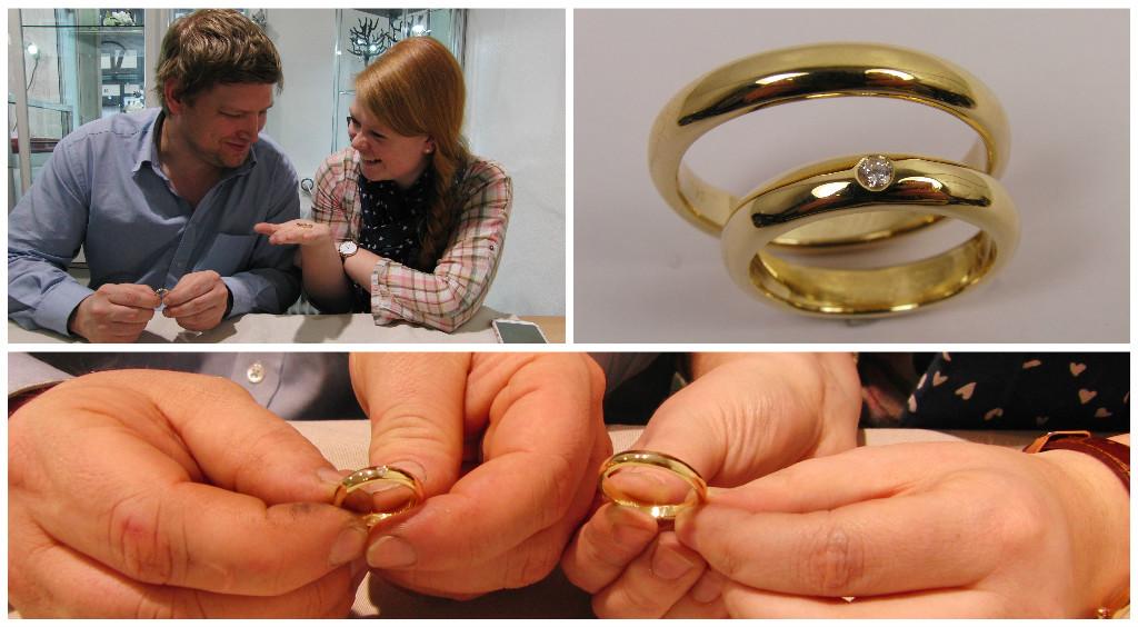 Die perfekten selbstgeschmiedeten Ringe