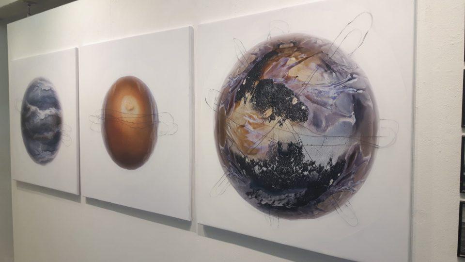 Zeitgenössische Kunst - Planeten (c) Keno Hennecke