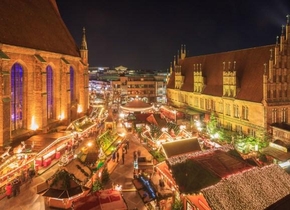 Weihnachtsmärkte in Hannover