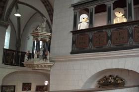 Erika und Jan erforshen in der Hauptkirche , was es mit Lessings Zensur auf sich hatte