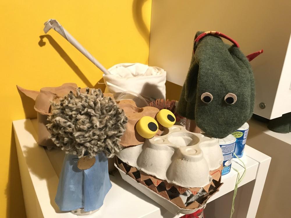 Spielzeug aus Abfällen