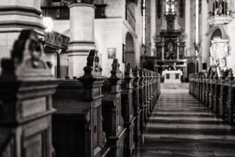 Man kann die Kirche besichtigen oder einfach seine Begegnung mit Gott suchen.