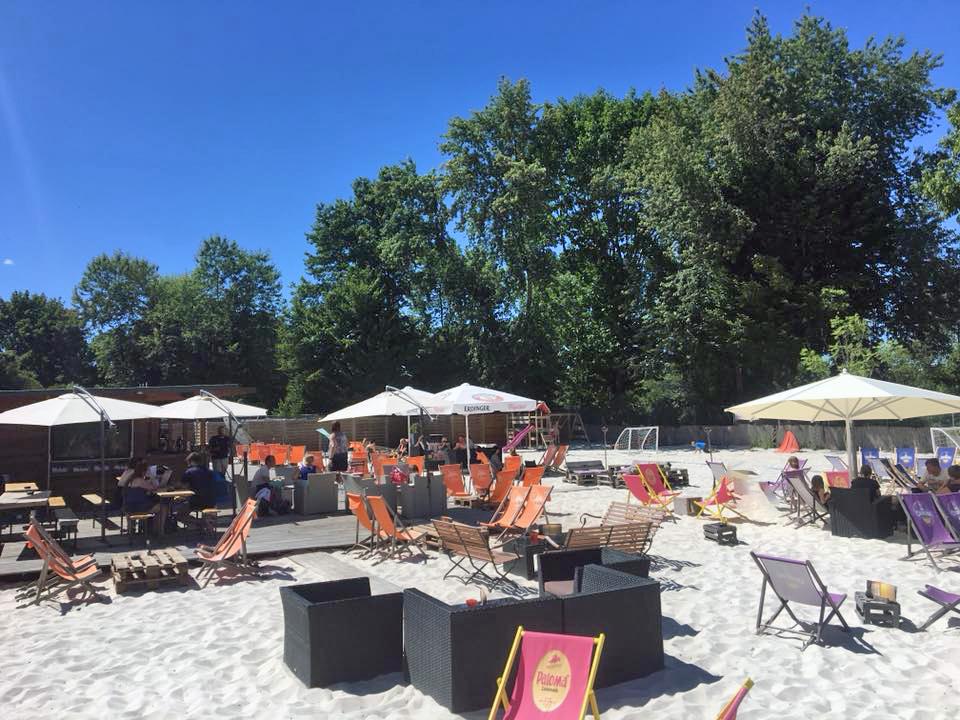 Strandbar Cappucabana in Gifhorn