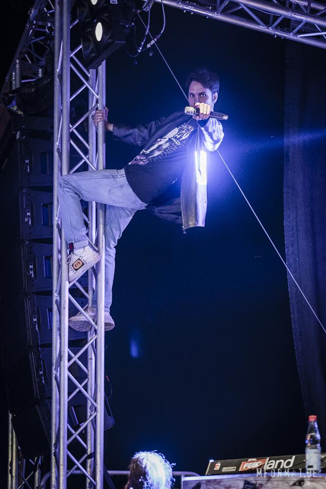 Jett Rebel auf der Südstrandbühne   Foto: mformat