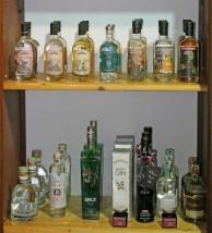 Gin-Auswahl im Angels´ Share