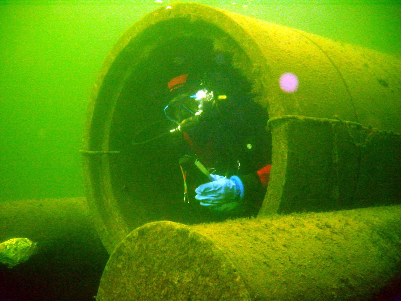 Unterwasserclub Manta | Foto: Hans Schmühl