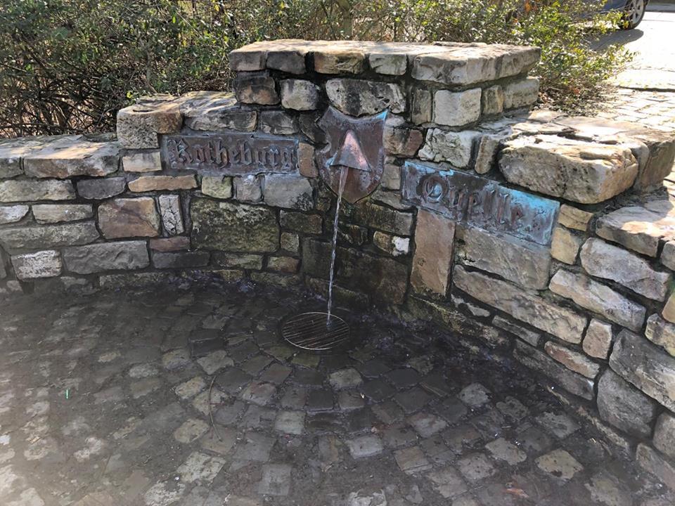 Die Rothenburg-Quelle spendet Trinkwasser