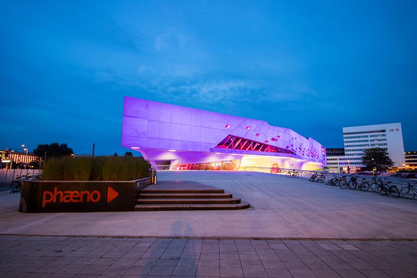 Das phaeno in Wolfsburg von außen