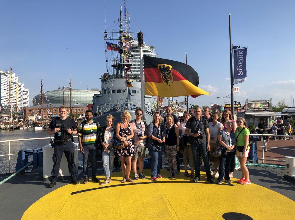 "InstaWalk ""Über die Planken"" beim SeeStadtFest - Landgang Bremerhaven (c) Mailin Knoke"