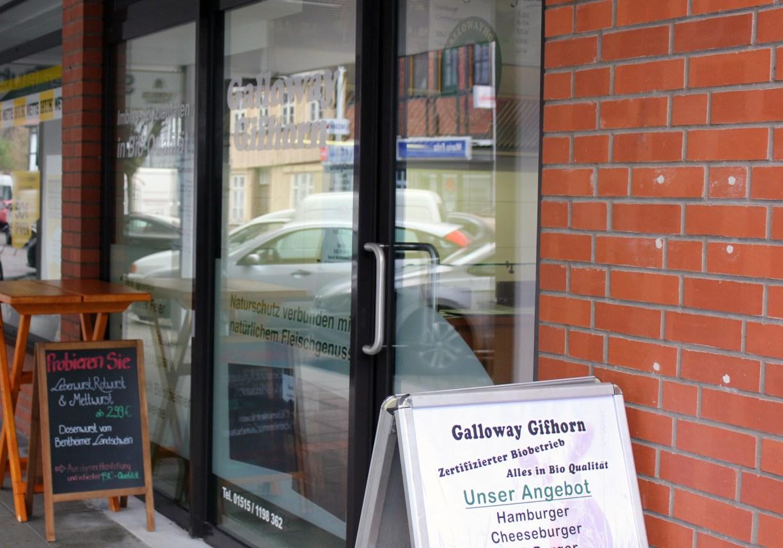 Der Galloway-Grill in GIfhorn von außen
