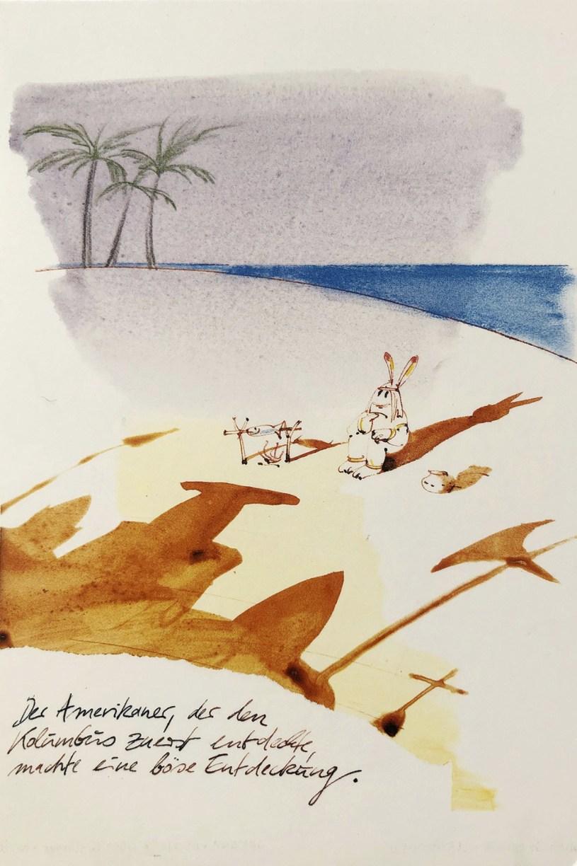 Zeichnung von Robert Gernhardt