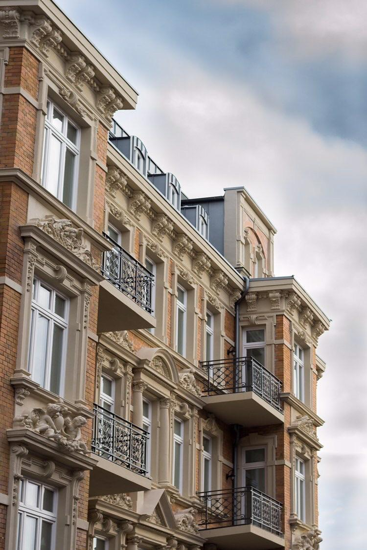 Fassade in der Südstadt