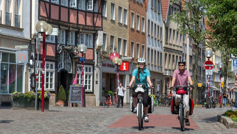 Radfahren in Osnabrück. Die schönsten Radrouten in Niedersachsen