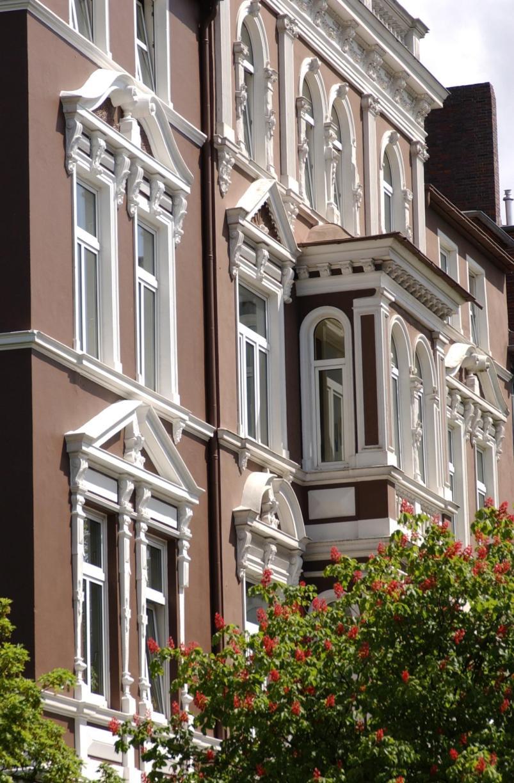 Häuserfassaden in der Südstadt
