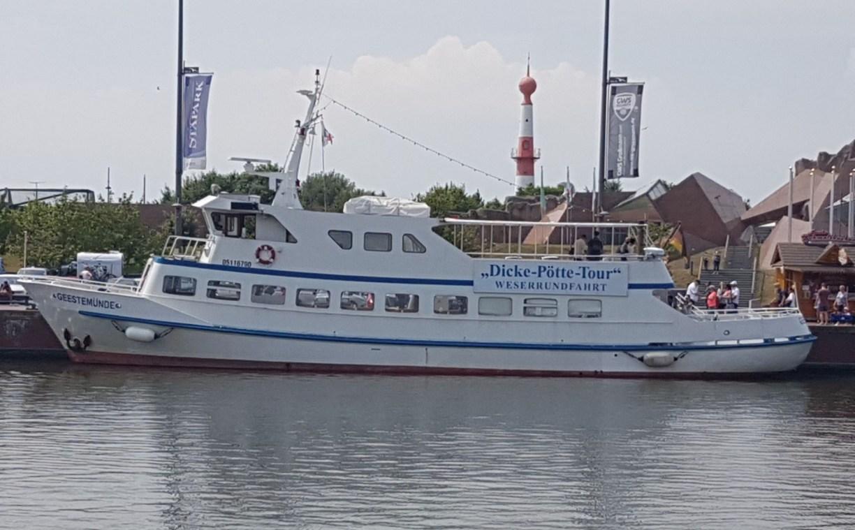 """MS """"Geestemünde"""" im Neuen Hafen Bremerhaven (c) Tanja Albert"""