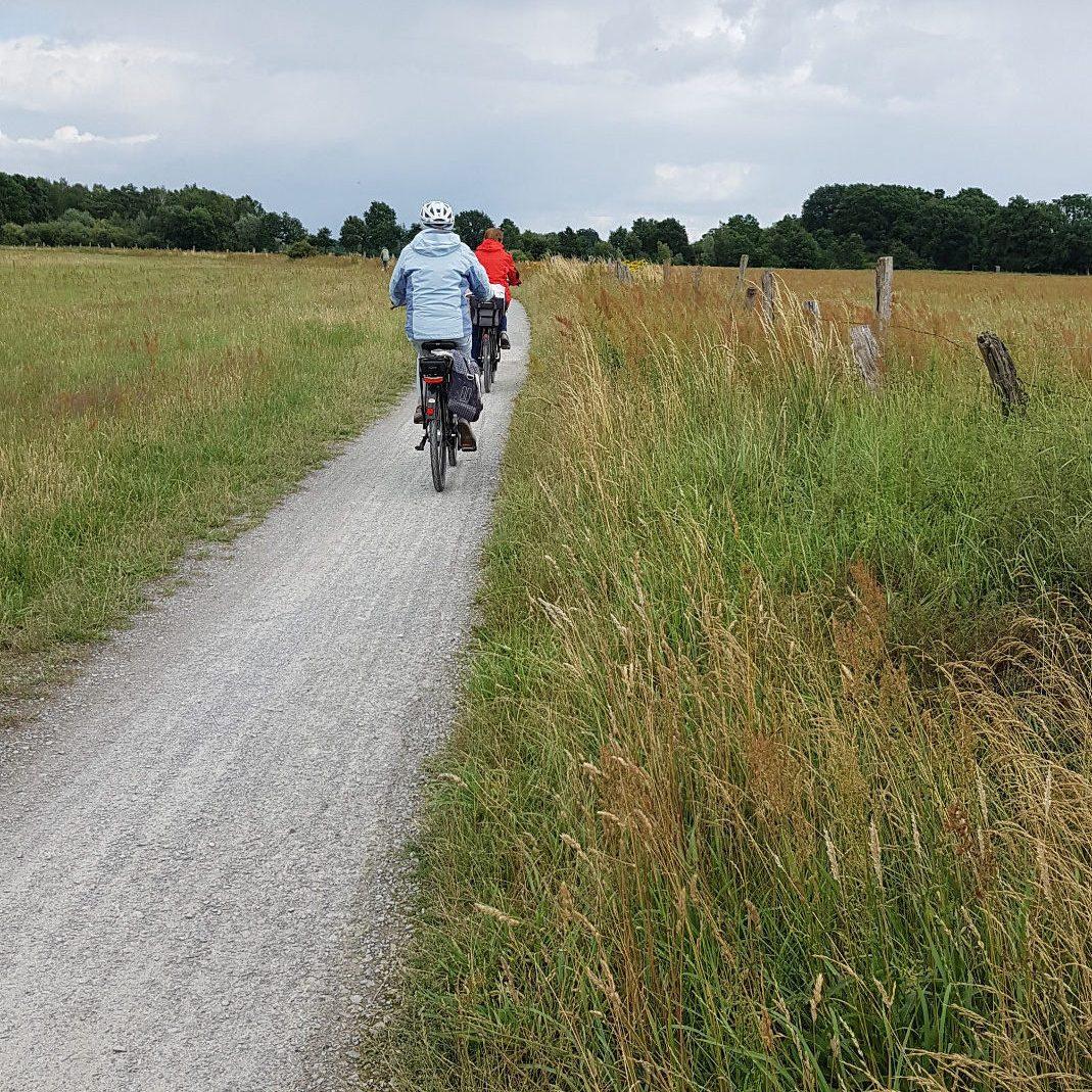 Die Strecke zwischen Osterloh und Bockelskamp ist sehr beliebt bei Radfahrern.