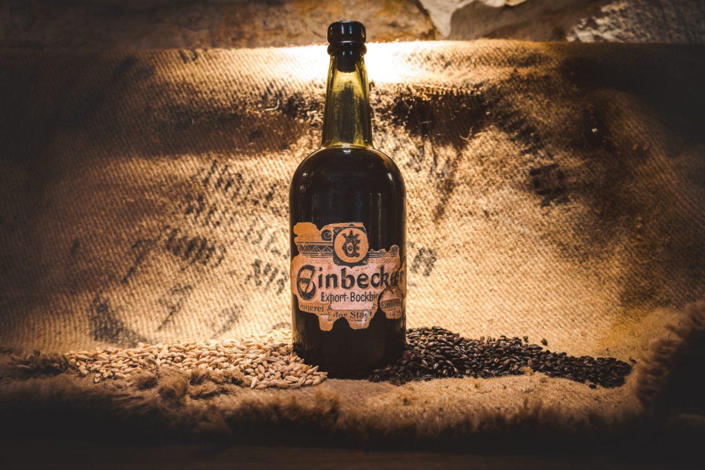 Alte Bierflasche aus Einbeck.