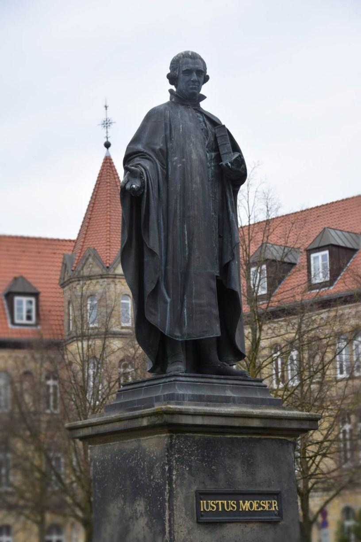 Standbild Justus Möser in Osnabrück