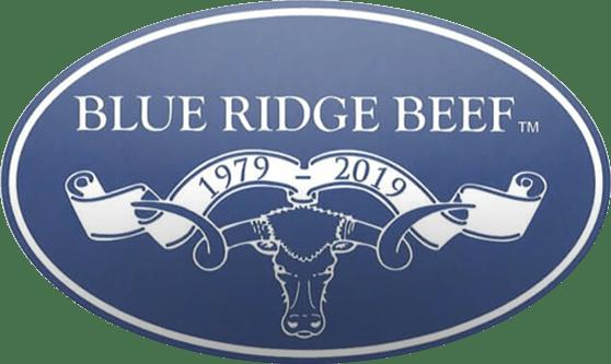 blue ridge beef raw food logo